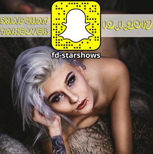 Morgen auf Snapchat:fd-starshows schaut unbedingt vorbei Kiss Lessia:*